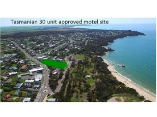 Tasmanian 30 unit Approved Motel, licensed 200 seat Function Center Development Site,Ready to GO