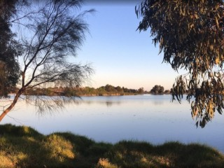 Moulamein Lakeside Caravan Park NSW - 1P0045