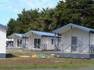 Best Value Tasmanian L/H Caravan Park O/O $550,000, 4 f/hold cabins, average 2 yr net $110K pa